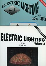 Electric Lighting1920s & 1930s - Makers Models / 2- Volume Book Set + Values