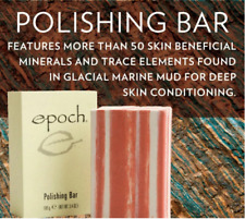 Nu Skin EPOCH POLISHING BAR- Soap Free Botanical Cleanser & Exfoliant - 100gm