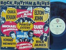 Rock Rhythm & Blues ORIG OZ Promo LP EX '89 Rick James Chaka Khan Randy Travis