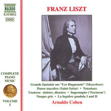 Arnaldo Cohen - Franz Liszt: Complete Piano Music, Vol. 1