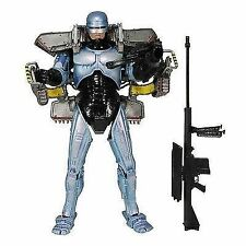 NECA Robocop - 18cm Ultra Delux Figure With Jetpack and Assault Cannon