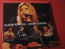"MFSL 3-281 ALISON KRAUSS+UNION STATION "" LIVE "" (180GRAM/3-LP/RECORD-BOX/SEALED)"