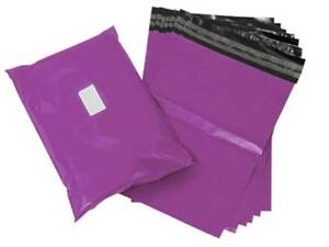 Purple Colour Mailing Bags
