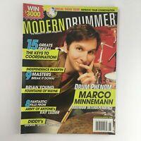 Modern Drummer Magazine June 2007 Marco Minnemann & Brian Young & George McCurdy