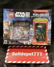 Brand New Lego Star Wars III + Funko Pop Jango Fett RARE! (Nintendo DS, 2012)