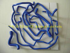 FOR Renault 5/R5 GT turbo 1988-1991 1989 1990 15PCS silicone water hose BLUE