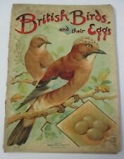 BRITISH BIRDS AND THEIR EGGS, Father Tuck's Pictureland Series, Illustrated