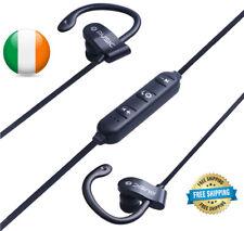 Bluetooth Earphones Sport Headphones Hook Wireless For iPhone Samsung with Mic