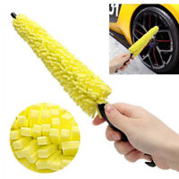 Car Wheel Brush Plastic Handle Cleaning Brush Wheel Rims Tire Washing Brush  CN