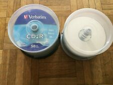 76 x Verbatim CD-R Spindle 52x 700MB Blank CDs Media Disks