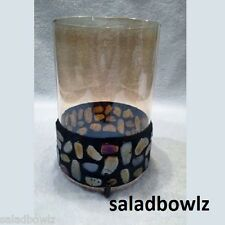 PARTYLITE New AURORA CANDLE SLEEVE P91227 for Pillars & Jars! FREE SHIP