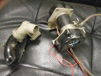 GENUINE HEATER BLOWER MOTOR radio VINTAGE cooling fan with adaptor bakelite