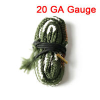 Bore Snake 20 GA GAUGE Caliber Cleaning Kit Boresnake Brush Cleaner Hunting