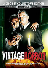 Vintage Horror -  3 Disc Collector's Edition - DVD - VG