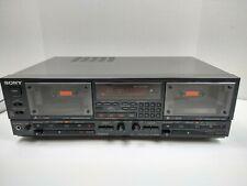 Vintage Sony Tc-Wr950 Dual Cassette Deck - Video in Description