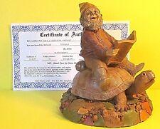 """1995 Tom Clark Gnome """"Mc Nally"""" riding a Turtle, #30, 7"""" x 6.5"""" w Coa - Minty*"""