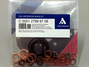 0438100027 Full Repair Kit for Bosch Fuel Distributor Porsche 928 4.5, 928 4.7 S