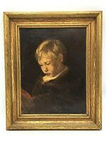 1800s Oil Painting - Portrait by Listed Artist, Ellen Day Hale - 1871