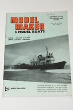 Model Boats August Magazines in English