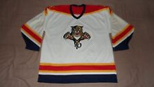 Vintage Florida Panthers White CCM Men's Size XL Official NHL Hockey Jersey