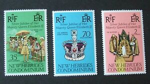 New Hebrides English 1977 Silver Jubilee MNH UM unmounted mint