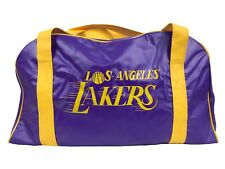VTG 70's Lakers Gym Bag Lightweight Duffel Limited Edition Rare VHTF Brand NEW