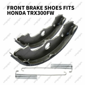 Race Driven OEM Replacement Front and Rear Brake Shoes Brakes for Honda FourTrax 300 TRX300 TRX300FW