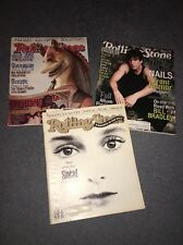 3 Rolling Stone Magazine'S, Trent Reznor,Sinead O'Conner, Chili Peppers.