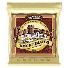 Ernie Ball Earthwood Bronce Rock 'n bluesacoustic Cuerdas de Guitarra Calibre 10-52