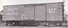 Funaro F&C Ho, Atlantic & Danville 36' Ds boxcar w/ Hutchins ends Kit 8041