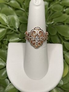 Ring Bomb Party Size 6 Madelaine Rose Gold Ring