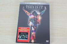 Michael Jackson - This is It 2 DVD Special Edition with 3D BACKSTAGE PASS SEALED