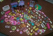 Huge Lot Of Vintage Barbie Food Items