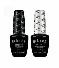 OPI Base + Top coat 15 ml Gelcolor LED UV Soak Off Gel Polish Nail