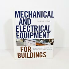 Mechanical and Electrical Equipment for Buildings 11th Edition Hardback Book