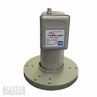 C-Band LNB LNBF DMS International BSC421 Single Digital Satellite HD FTA C Band