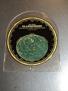 The Miller Planisphere Latitude 40 Degrees North w/ Protective Cover 1988 USA