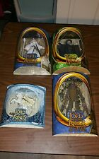 LOT OF 4 LORD OF THE RINGS ACTION FIGURES
