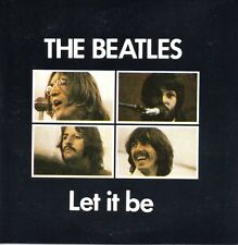 ★☆★ CD Single The BEATLES Let it be 2-Track CARD SLEEVE   ★☆★ You know my name