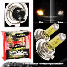 96-11 Audi A4 H7 Xenon Yellow 2500k 55w 12v High / Low / Fog Light Halogen Bulbs