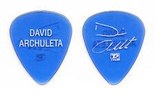David Archuleta Clear Blue Signature Guitar Pick - 2009 Tour
