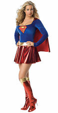 Super Girl Costume Adult Woman Size L 12-14