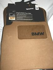 2001 to 2005 BMW 325Xi/330Xi Carpeted Floor Mats - FACTORY OEM ITEMS - BEIGE