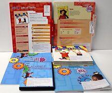 Gear Up,Ell Fluency Kit: Grade K-1 Guided Reading,ELL Lesson Plans,DVD,Books (5)