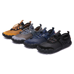 Size 6-13 Mens Casual Quick Dry Water Shoes Breath Wading Walking Trainers Beach