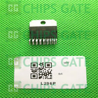 4PCS L296P Encapsulation:ZIP-15,High Current Switching Regulators