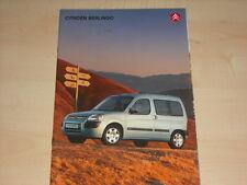 49874) Citroen Berlingo Prospekt 01/2003