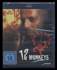 BLU-RAY 12 MONKEYS - BRUCE WILLIS + BRAD PITT (Regie: TERRY GILLIAM) *** NEU ***