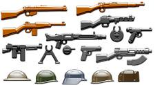 Brickarms WWII Armi Pack-Si adatta a LEGO NUOVO con confezione