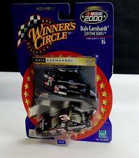 2000 Nascar #3 Dale Earnhardt Winners Circle 1/64 Scale Car w/Card #3 of 6